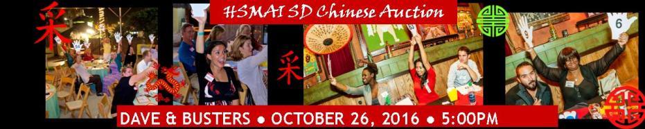 Chinese Auction - FUNdraiser for SDSU's Hospitality & Tourism Management Program