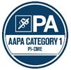 AAPA Category 1 PI-CME logo