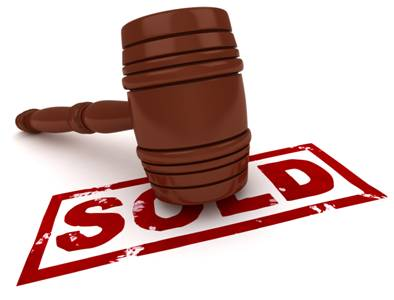 Silent Auction Sold Gavel