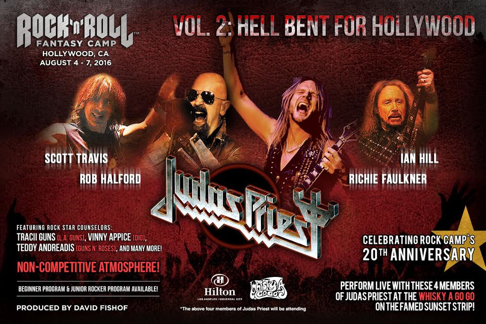 Hellbent for Hollywood - Judas Priest August 4 - 7, 2016