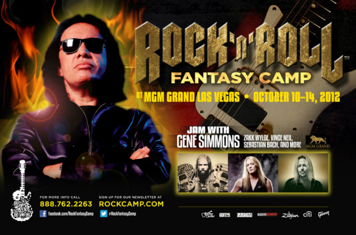 Gene Simmons in Las Vegas 2012