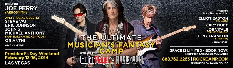 The Ultimate Musician Fantasy Camp