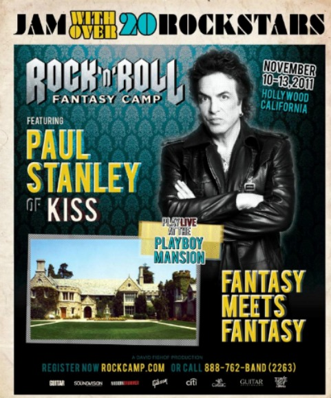 Fantasy meets Fantasy Camp @ the Playboy Mansion