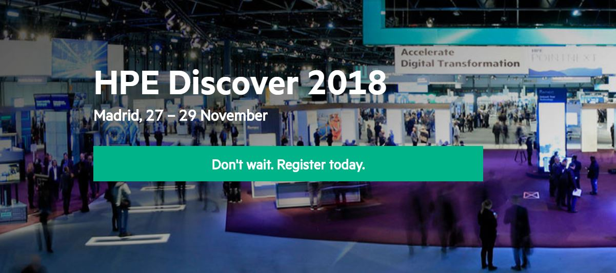 HPE Discover Madrid 2018