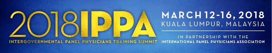 Intergovernmental Panel Physician Training Summit, March 12-16, 2018
