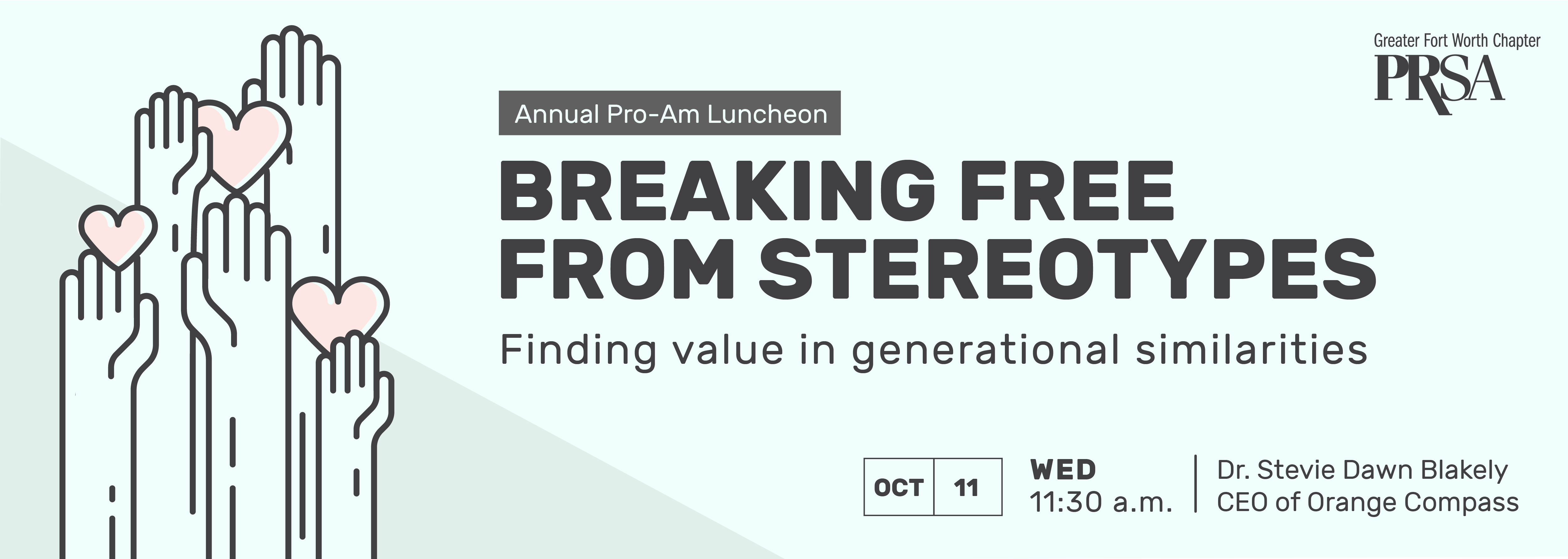 Breaking free from stereotypes; Finding value in generational similarities