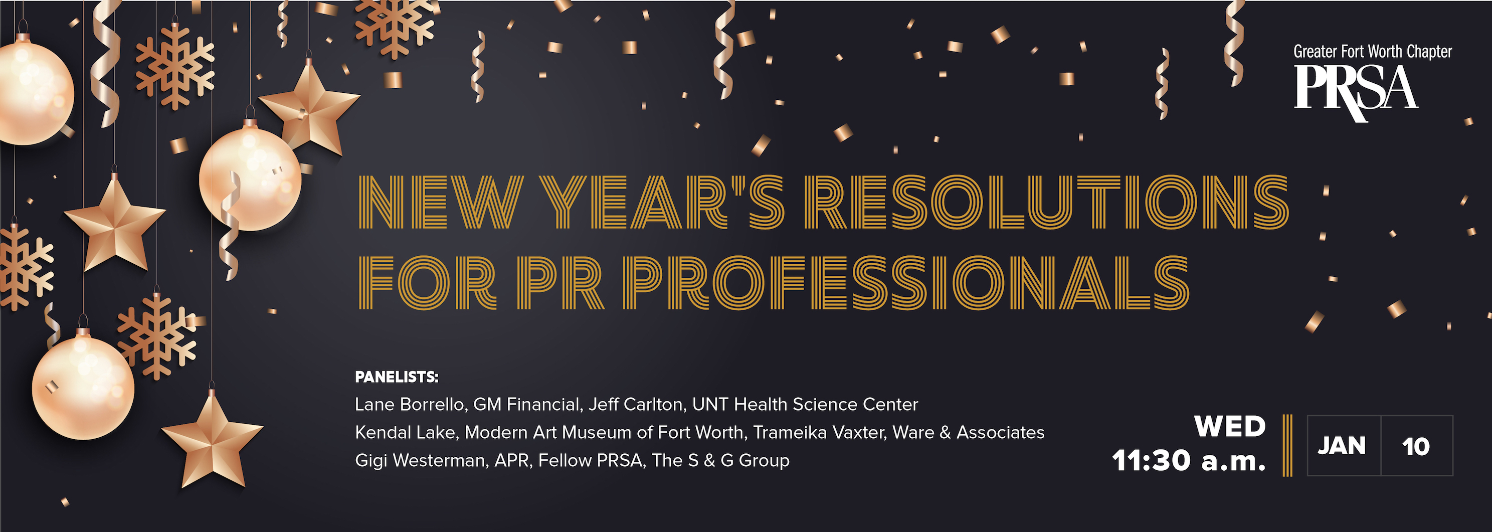 New Year's Resolutions for PR Professionals