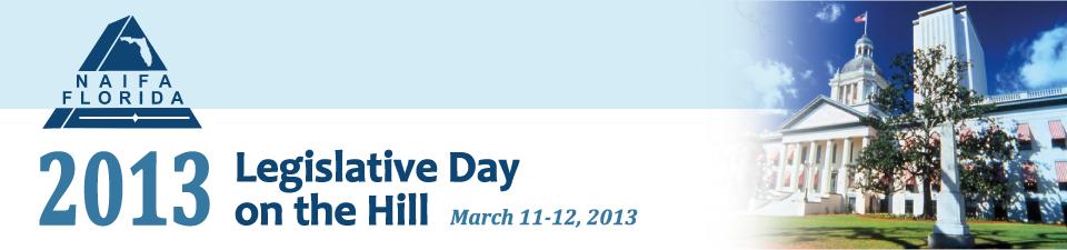 2013 NAIFA-FL Legislative Day On The Hill