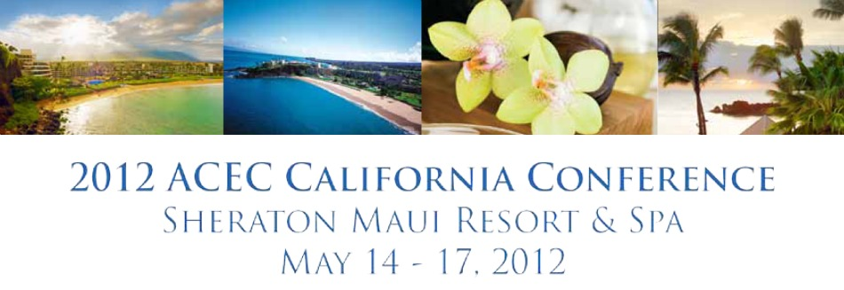 2012 ACEC California Annual Conference