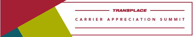 2018 Transplace Carrier Appreciation Summit