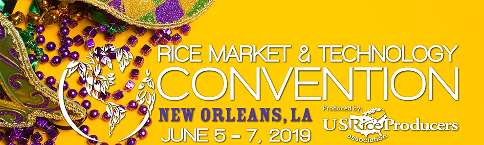 2019 Rice Market & Technology Convention