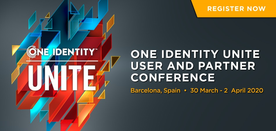 One Identity - UNITE EMEA 2020
