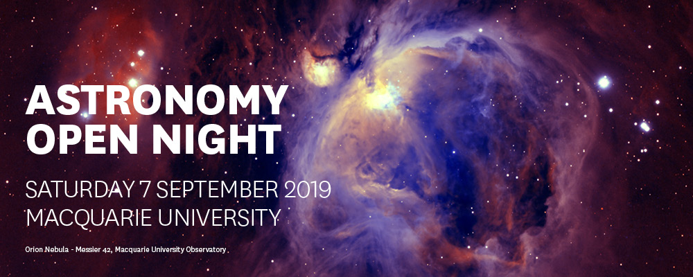 Astronomy Open Night