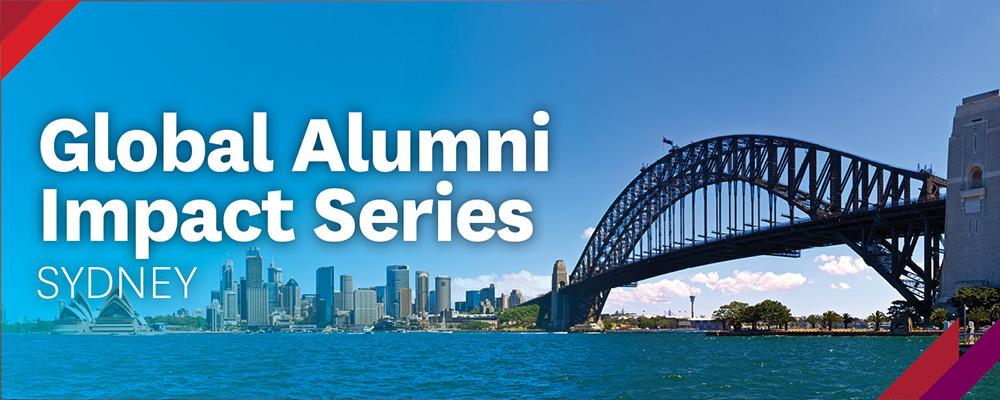 Global Alumni Impact Series - Sydney