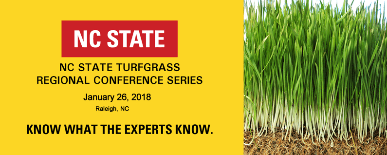 2018 Raleigh Regional Turfgrass Conference