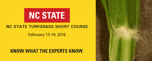 2016 NC State Turfgrass Short Course