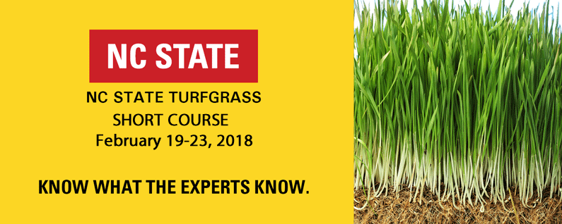 2018 NC State Turfgrass Short Course
