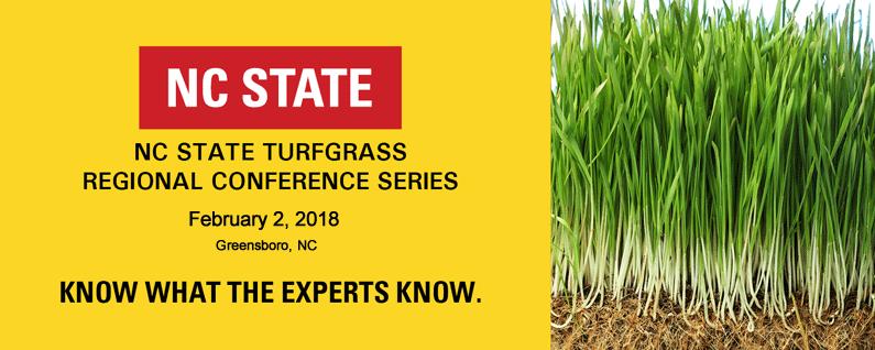 2018 Greensboro Regional Turfgrass Conference