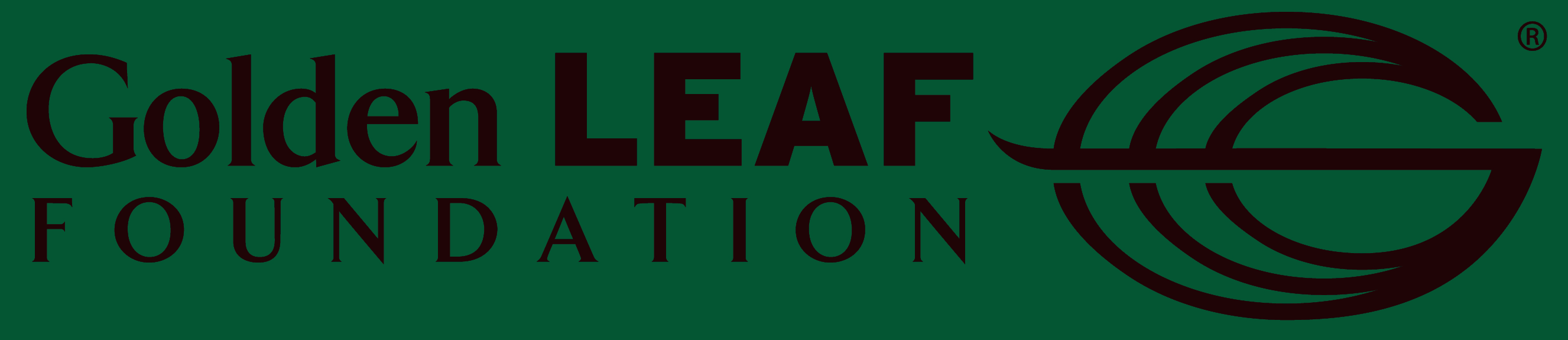golden leaf logo green