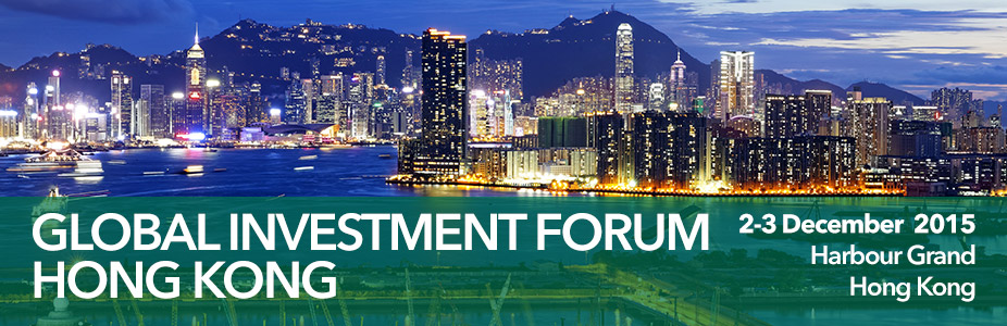 Infrastructure Investor Global Investment Forum Hong Kong