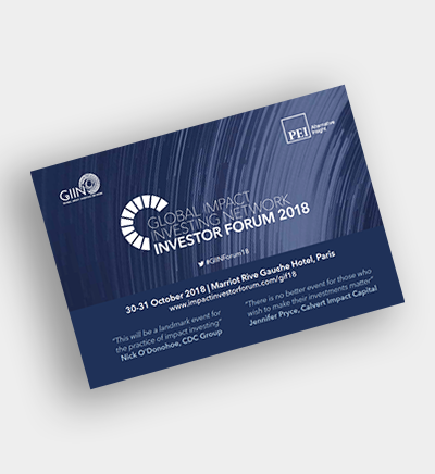 GIIN Investor Forum event preview