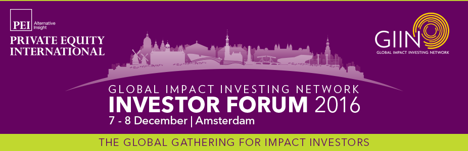 GIIN Investor Forum 2016