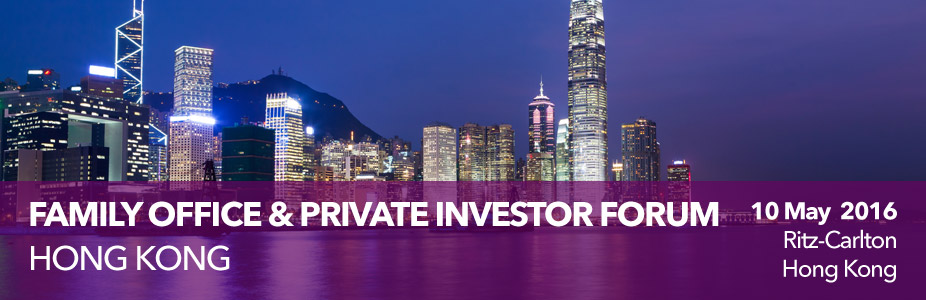 PEI Family Office & Private Investor Forum Hong Kong