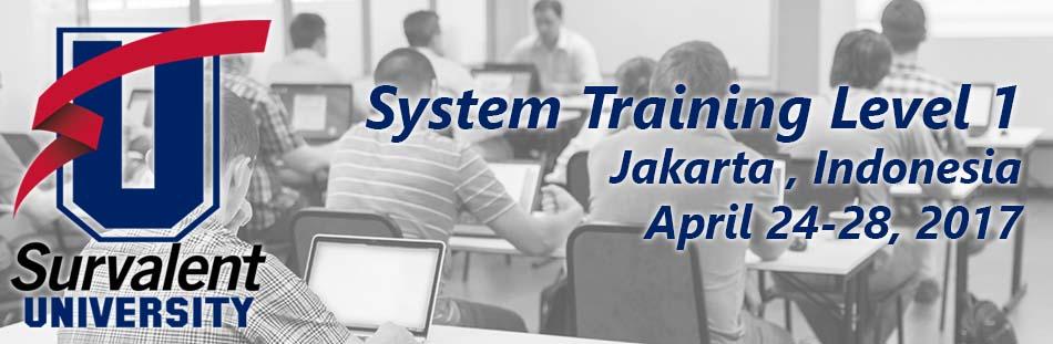 System Training Level 1 - Jakarta, Indonesia