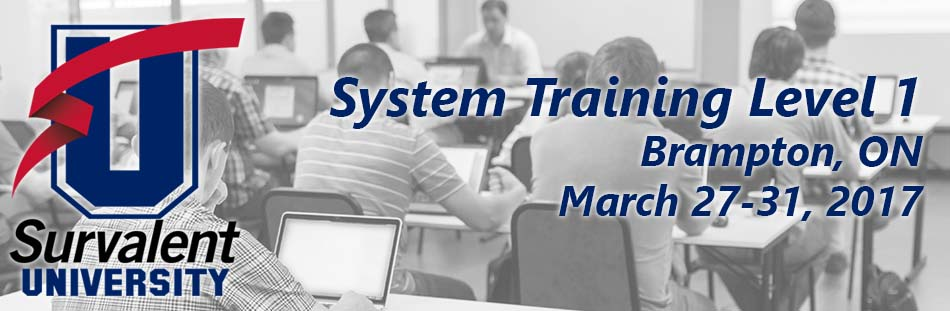 System Training Level 1 - Brampton, ON