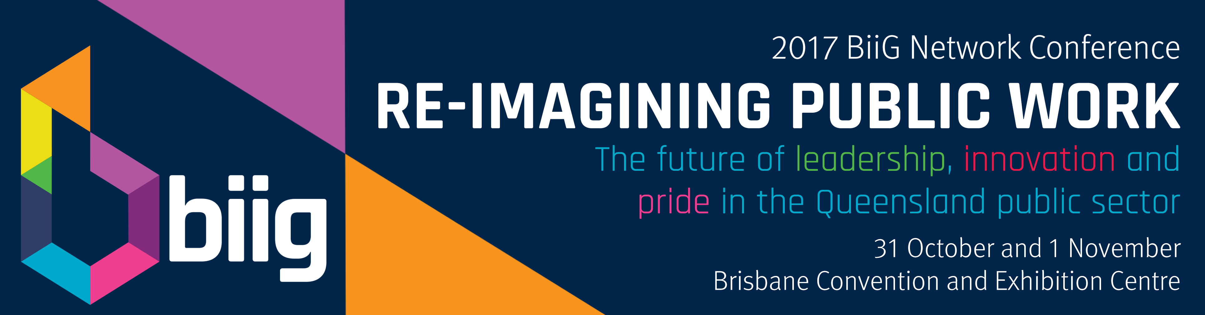 Re-imagining public work: The future of leadership, innovation and pride in the Queensland public sector