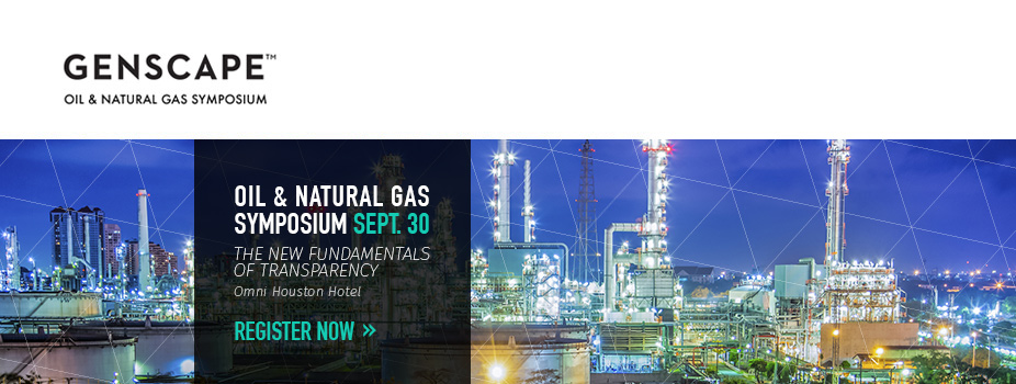 Genscape 2015 Oil and Natural Gas Symposium: The Fundamentals of Transparency