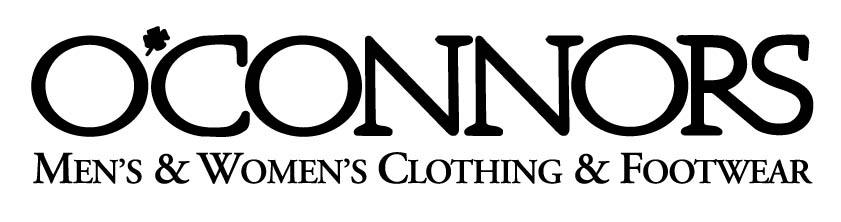 OConnors Mens Womens Black logo