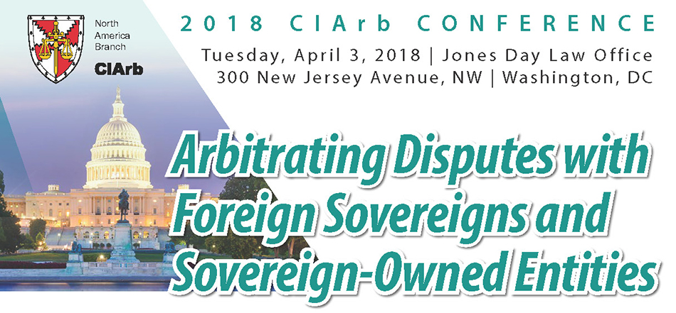 2018 Chartered Institute of Arbitrators Conference (CIArb)