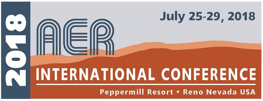 AER International Conference 2018
