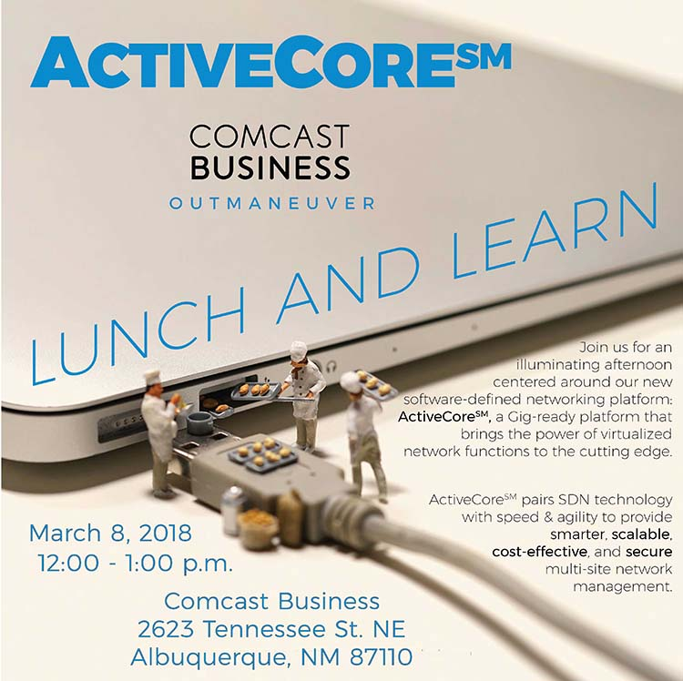 NM - Comcast ActiveCore SDN Lunch & Learn