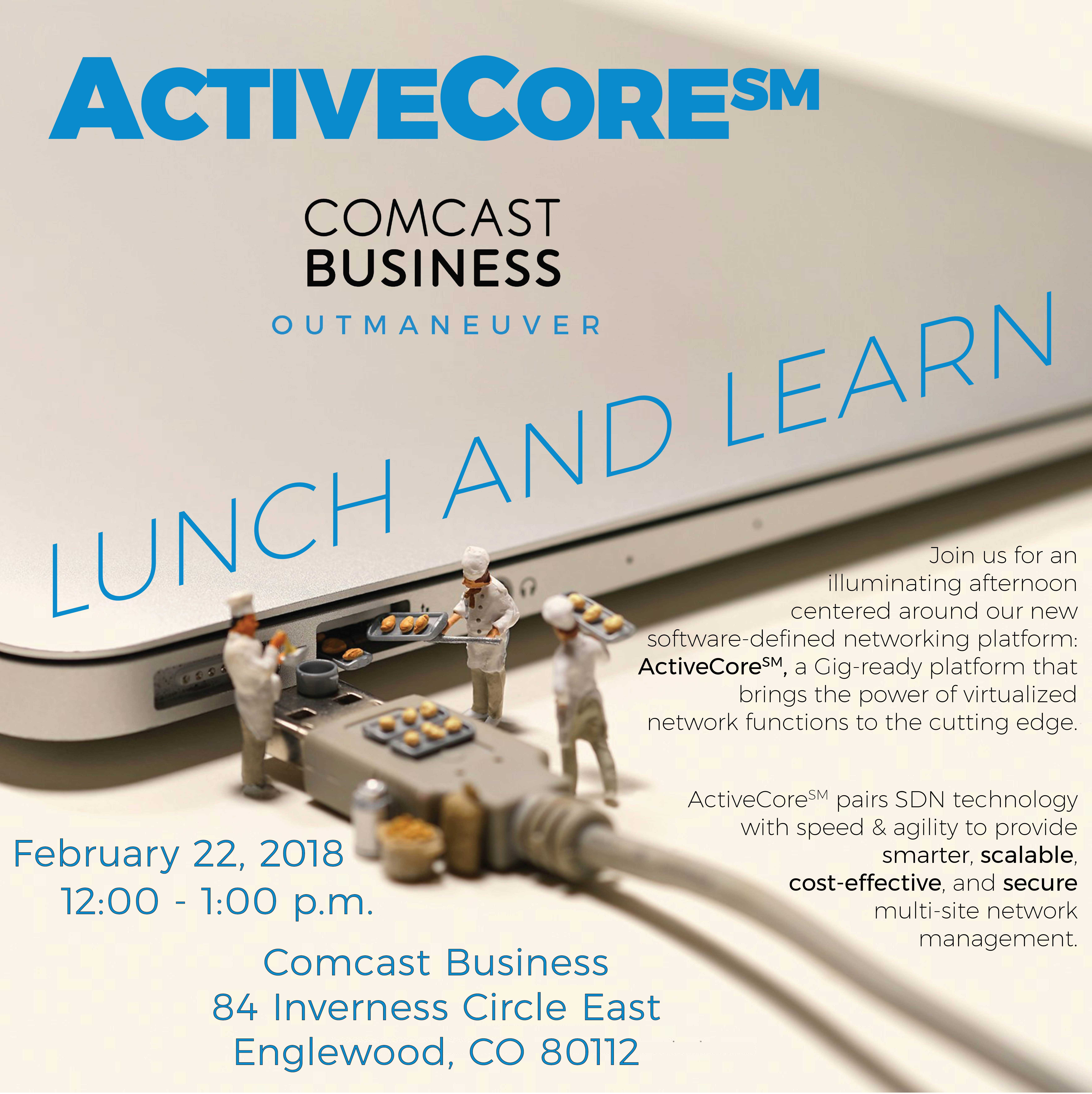 Comcast ActiveCore SDN Lunch & Learn
