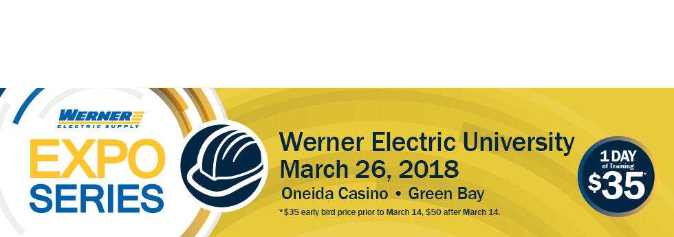 Werner Electric University 2018 - GB