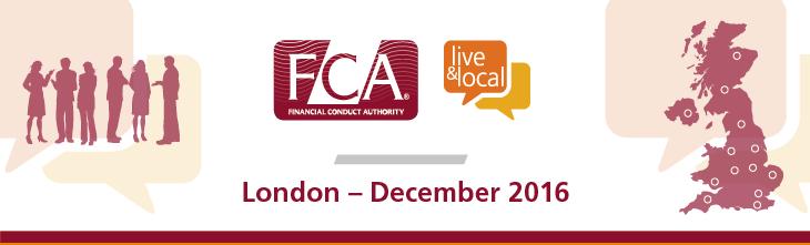 FCA: Live & Local - London