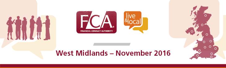 FCA: Live & Local - West Midlands