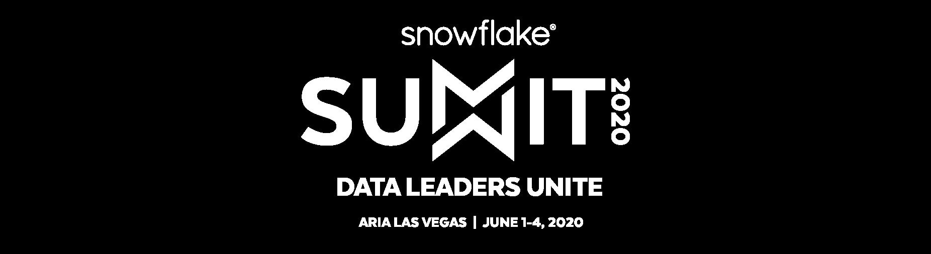 Snowflake Summit 2020