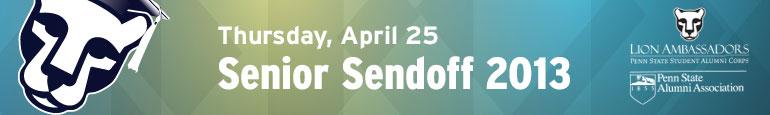Senior Sendoff 2013