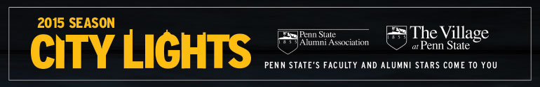 """City Lights """"Penn Staters in News and Weather Careers"""""""