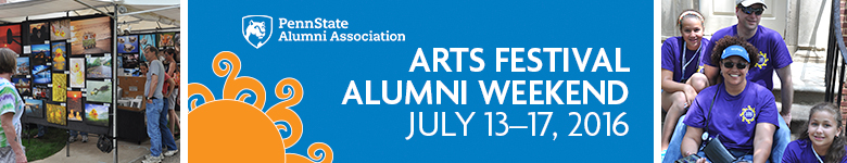 Arts Festival Alumni Weekend Program 2016