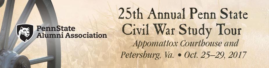25th Annual Penn State Civil War Study Tour