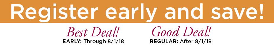 2018 registration dates banner III