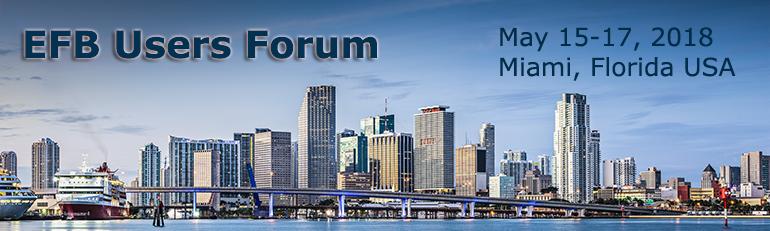 EFB Users Forum Miami