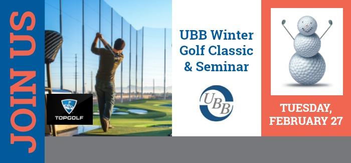 2018 UBB Winter Golf Classic & Seminar