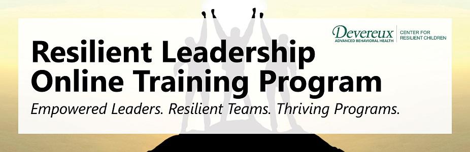 Resilient Leadership Online Training Program