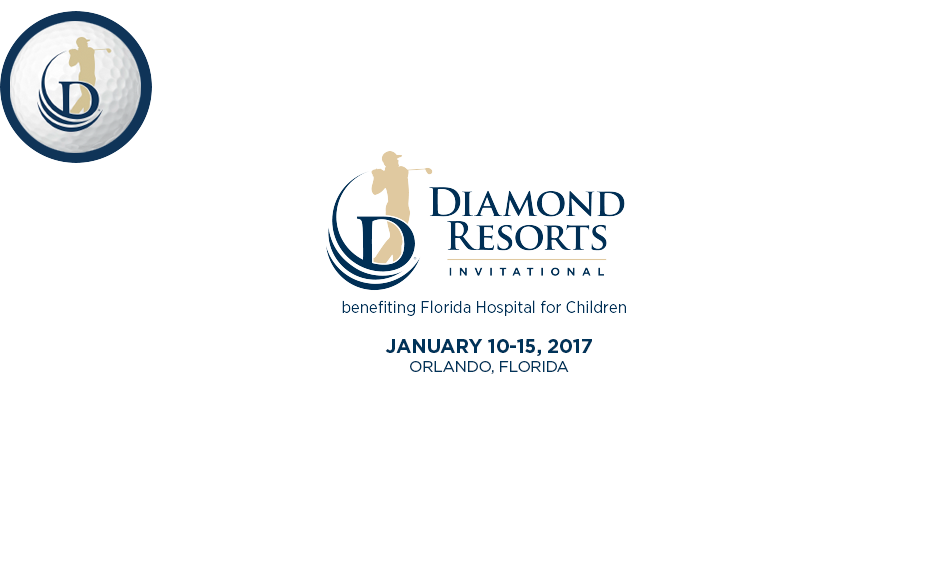 Golf Volunteers Diamond Resorts Invitational™ benefiting Florida Hospital for Children