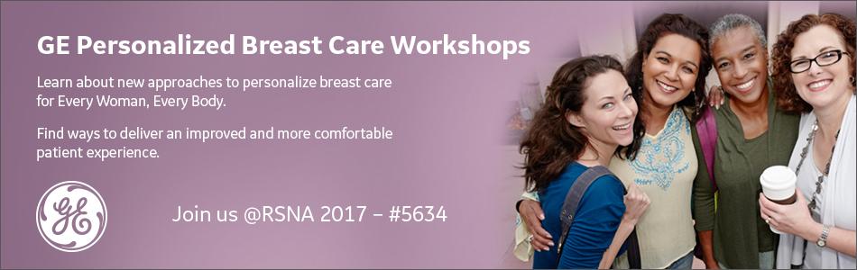 GE Breast Health Advantage Workshop (RSNA 2017)